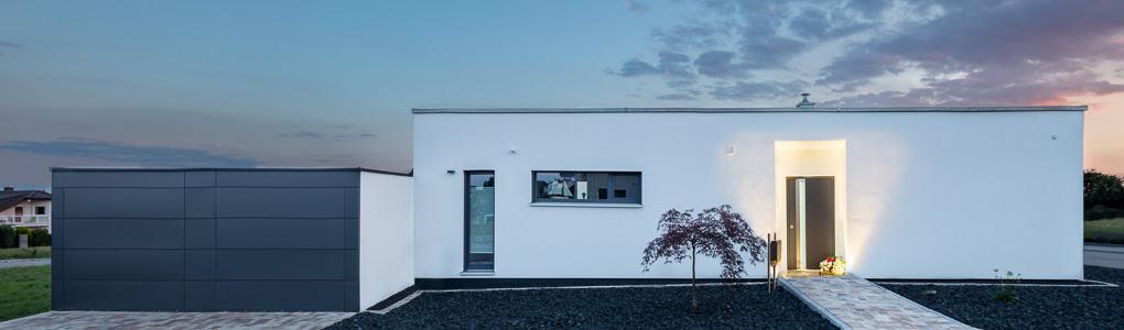 Architekturfotografie Bungalow Deutschland
