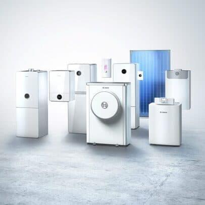 Produktrange Bosch Thermotechnik 2020