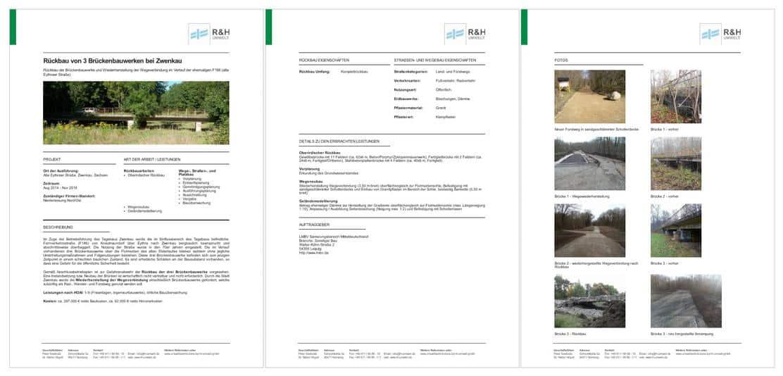 Custom Templates: Projekt-Referenzen in Ihrem Corporate Design auf done.by Image