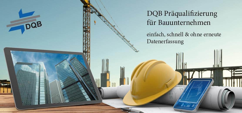 DQB Präqualifikation für Bauunternehmen – jetzt mit done.by Bild