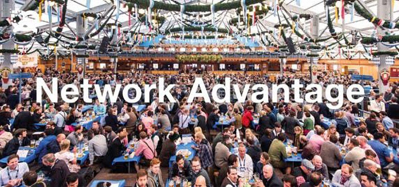 Network Advantage Bits & Pretzels 2017 Bild