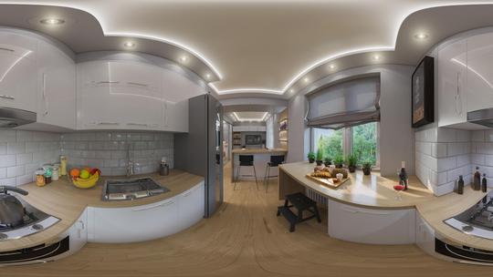 360°/VR-Beispiel Innenarchitektur Vorschau-Bild