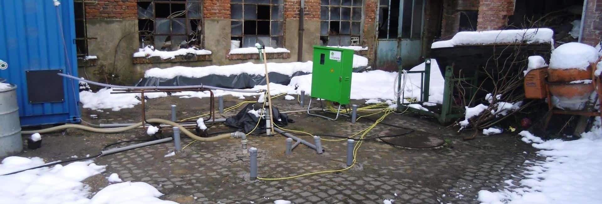 reconsite - Thermische Reichweite bei der Bodensanierung