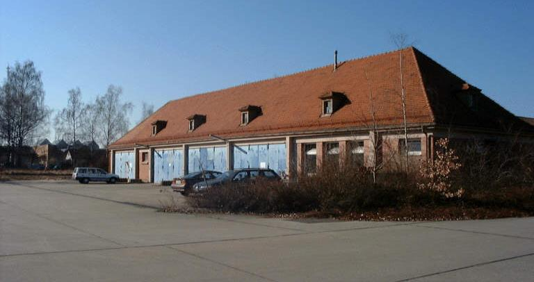 Baufeldfreimachung im Tillypark Nürnberg, Rückbau der ehemaligen Infanteriekaserne