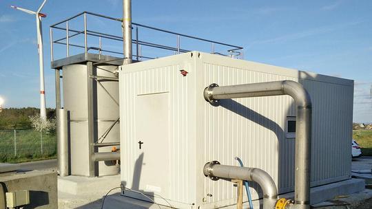 Referenz/Cadolzburg: Entschwefelung einer NaWaRo-Biogasanlage  Vorschau-Bild