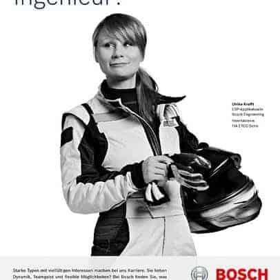 Bosch AG recruiting campaign