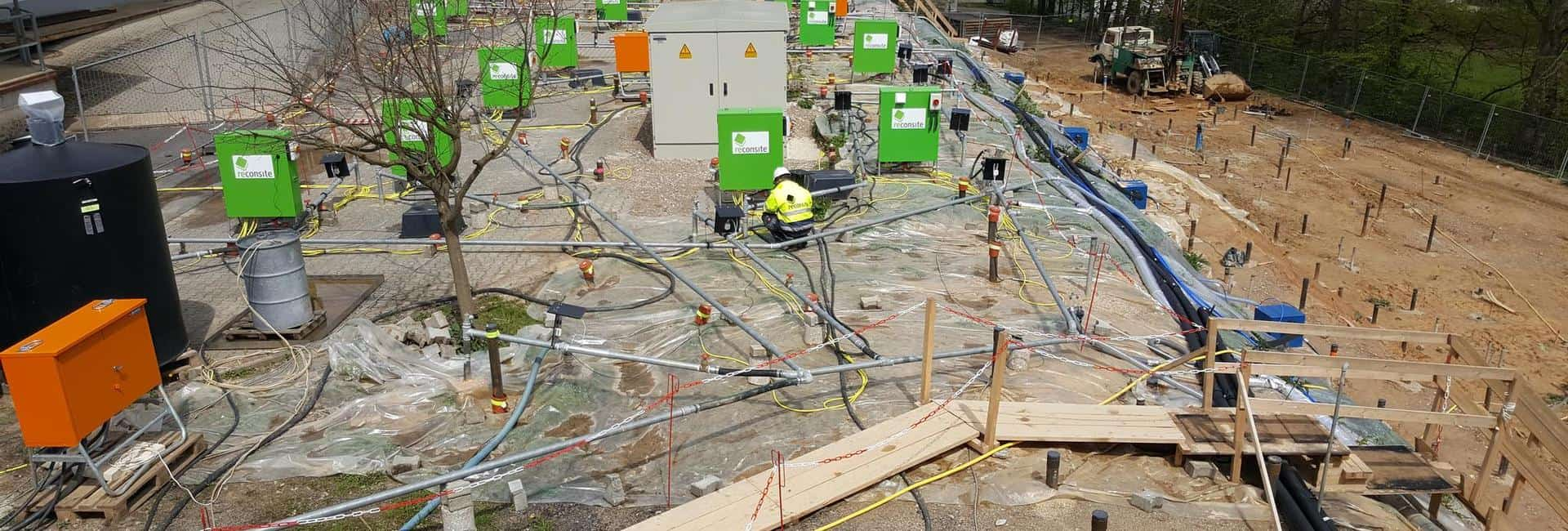 reconsite - CKW und BTEX wirtschaftlich beseitigen, Boden und Grundwasser sanieren