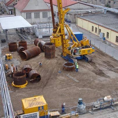 BMU - Ihr Partner für Umwelttechnik - Austauschbohrungen Durchmesser 2300 mm