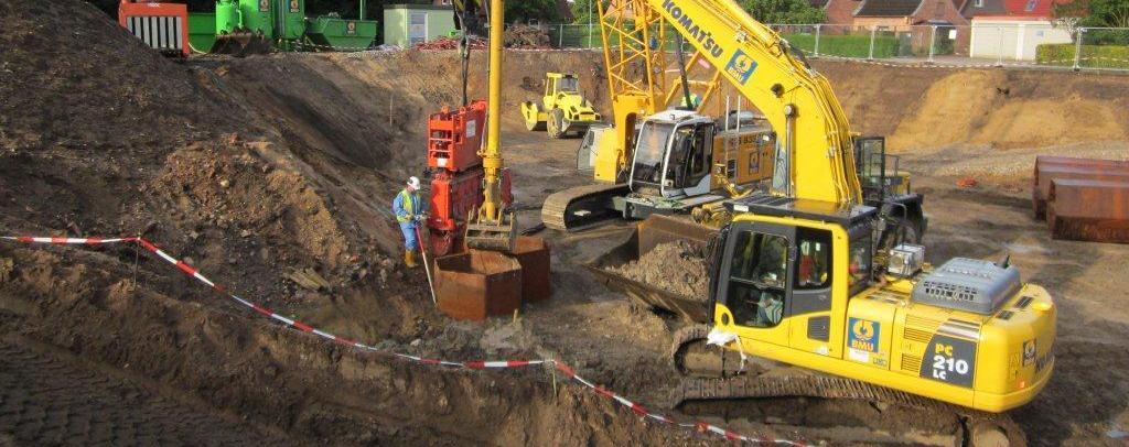 BMU - Bodensanierung mittels Wabenaushub