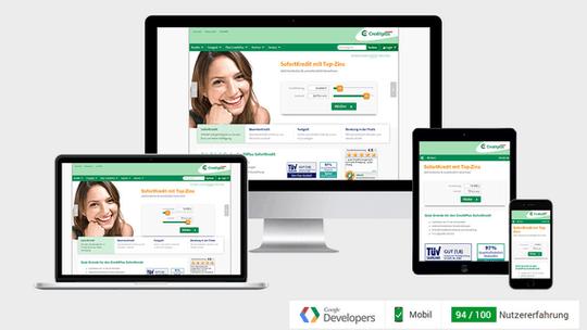 CreditPlus Bank AG - Relaunch Website Vorschau-Bild