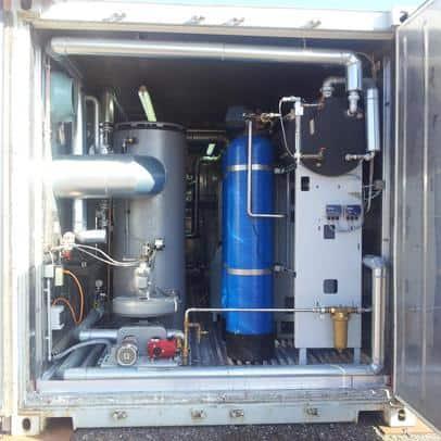 reconsite - mobile Dampferzeuger; Dampfkessel zum Umweltschutz und mehr