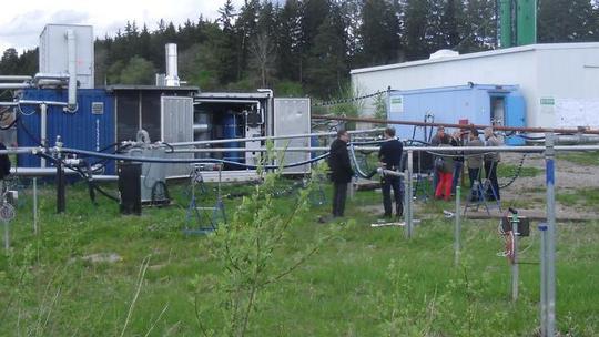 Dampfinjektion ins Kluftgestein Vorschau-Bild