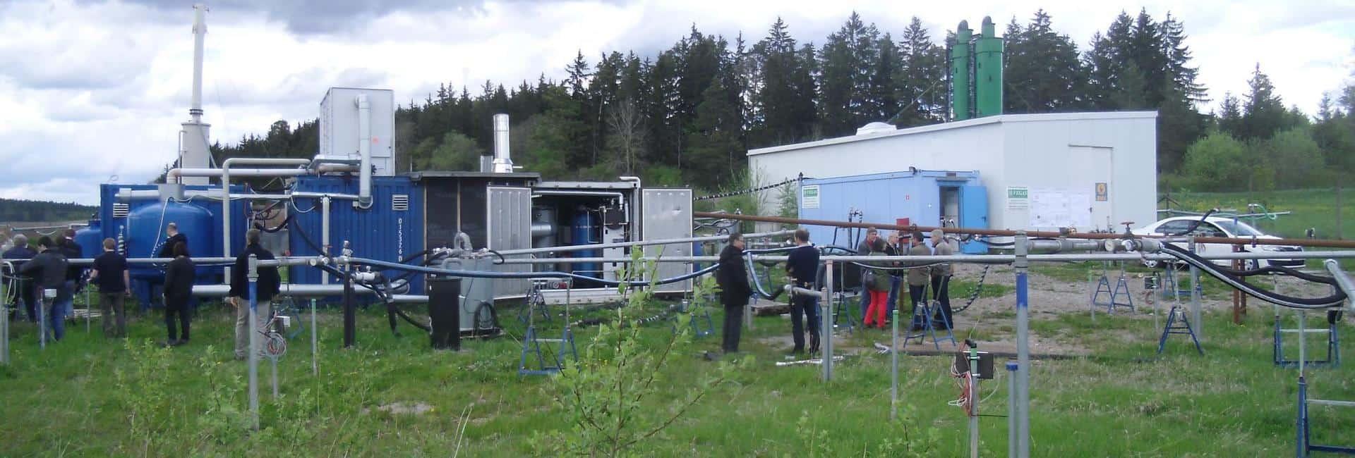 reconsite - Dampfinjektion zur CKW-Sanierung