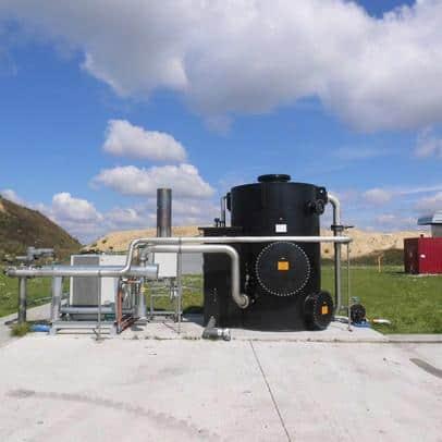Entschwefelung von Biogas in Polen