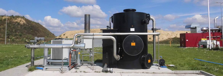 UGN®-BEKOM H 4.0 Anlage zum Abbau von Schwefelwasserstoff aus dem Biogas
