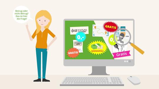 Erklärvideo - Falle: Gratis Abos im Internet! Vorschau-Bild