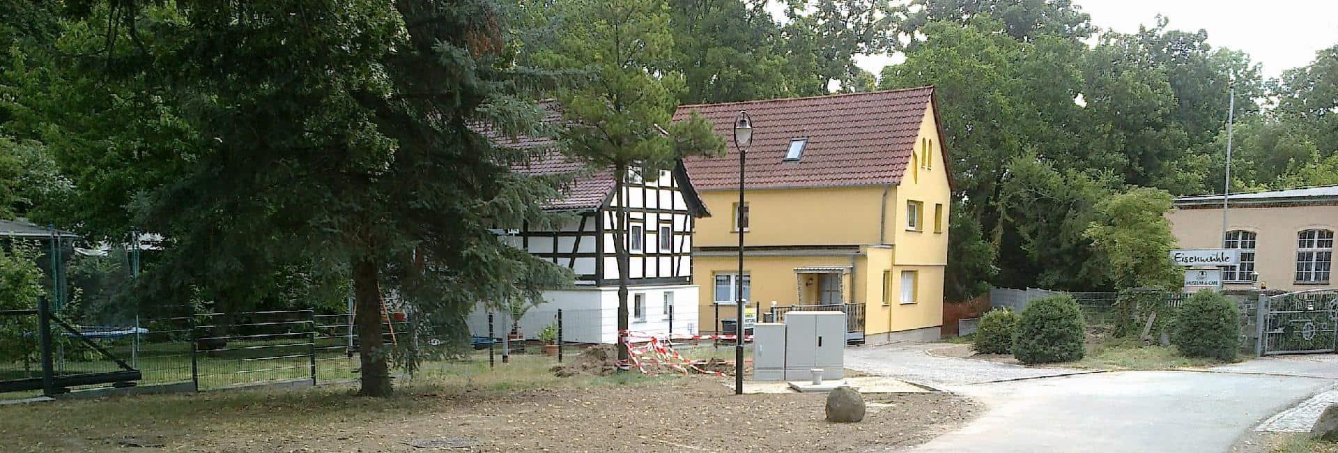 Pumpstation PSt9 im Ortsteil Oderwitz in Elstertrebnitz