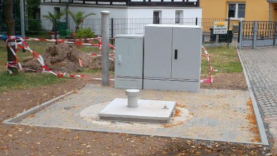 Erneuerung der Schmutzwasserkanalisation in Elstertrebnitz Vorschau-Bild