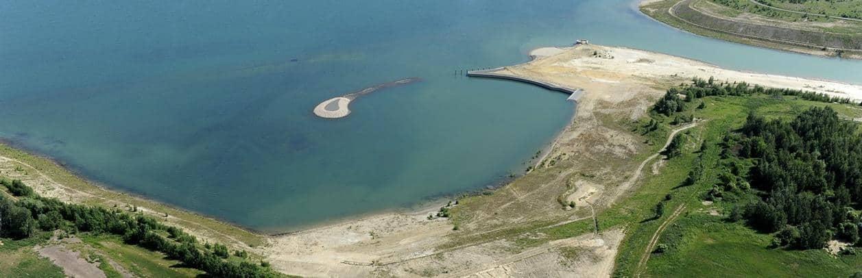 Grunaer Bucht im Störmthaler See