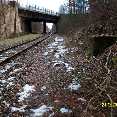 Querung von Bahngleisen