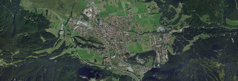 Luftbild Oberammergau