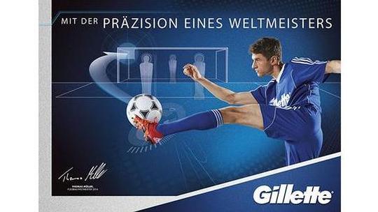 Gillette Kampagne mit Thomas Müller Vorschau-Bild