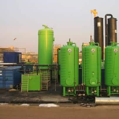 Grundwasser-, Bauwasser- und Abluftreinigung Bitterfeld-Wolfen Bauer Umwelt GmbH