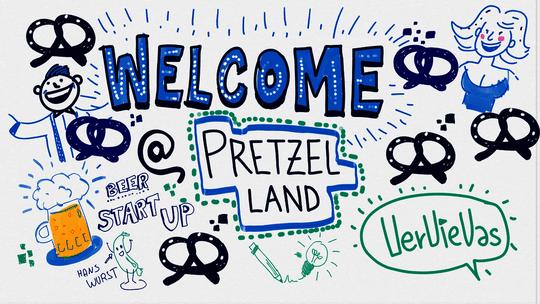 Bits & Pretzels 2016 - Graphic Recording Vorschau-Bild