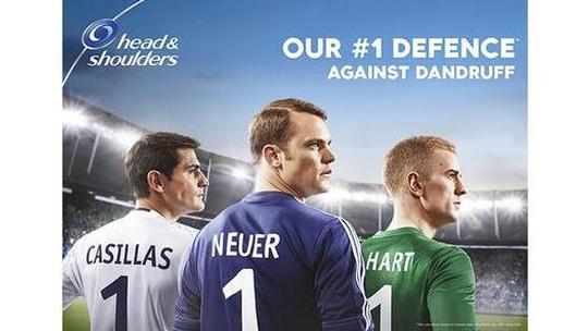 Head & Shoulders Kampagne mit Manuel Neuer, Iker Casillas und Joe Hart Vorschau-Bild