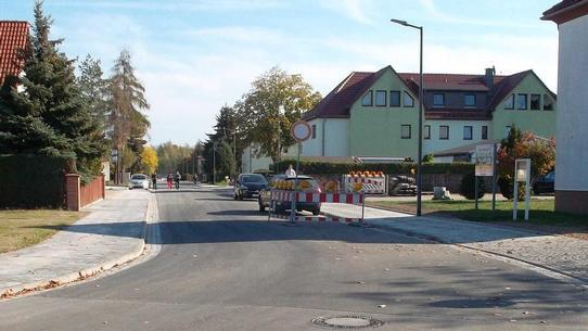 Kanal- und Trinkwasserleitungsbau in der August-Bebel-Straße in Deutzen Vorschau-Bild