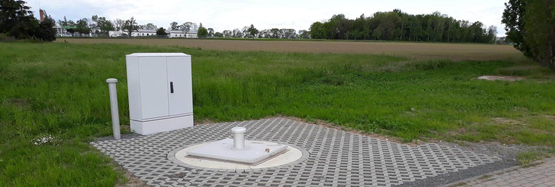 Schmutzwasserpumpstation