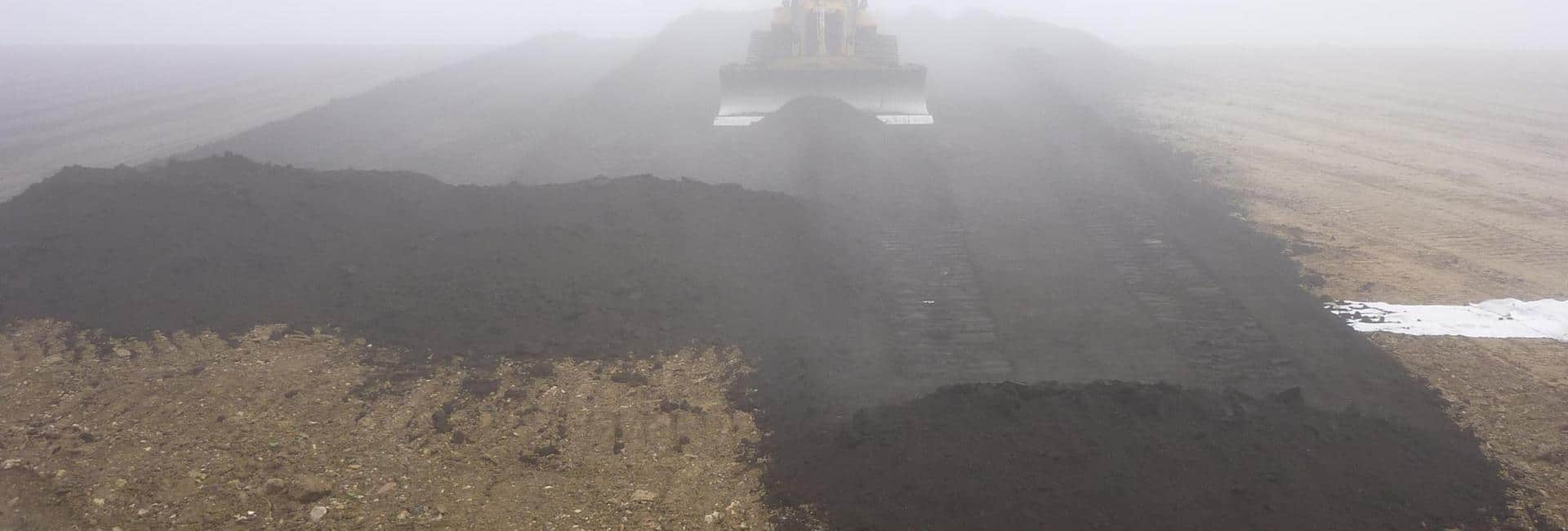 Abschlussarbeiten Oberflächenabdichtung auf der Deponie Tuningen
