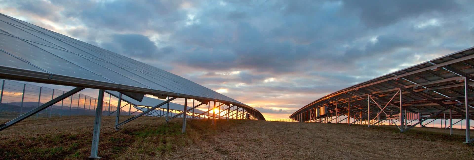 Photovoltaik-Freilandanlage in Plößberg bei Selb