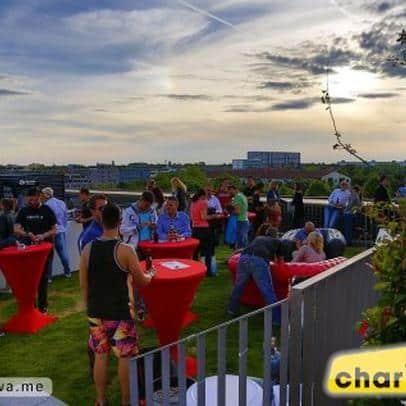 DIE KÜCHE IM KRAFTWERK Veranstaltungsort und Catering für die Radio Charivari Rooftop Party
