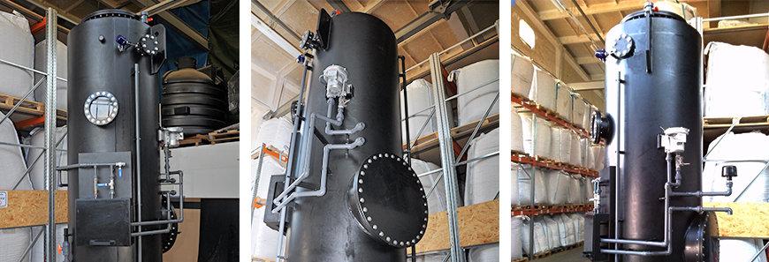 UGN® BEKOM-H 1.5 EUCOlino zum Abbau von Schwefelwasserstoff aus dem Biogas