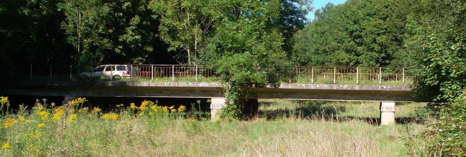 Brücke im Bereich Flutmulde