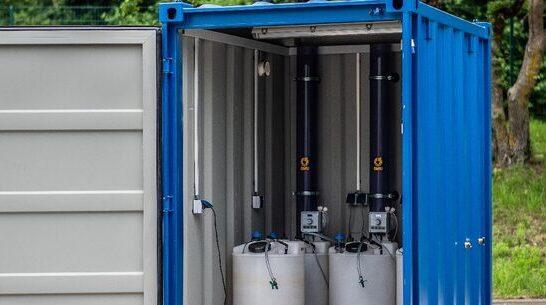 Schrobenhausen,  Neuentwicklung EcoVert®-Laborcontainer und  EcoVert®-Pilotcontainer Vorschau-Bild