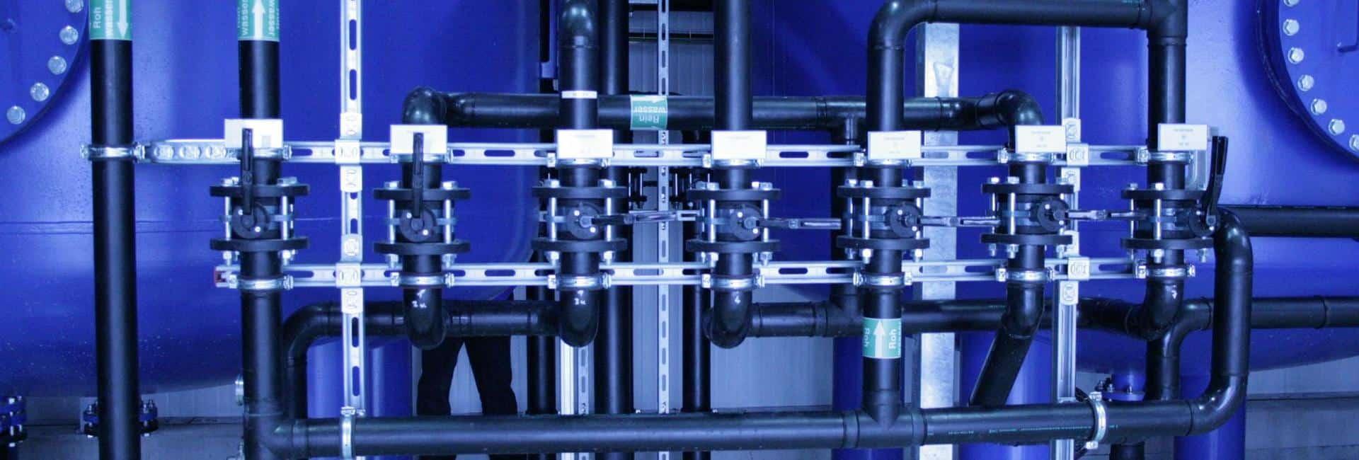 Bauer Umwelt: Aufbereitung Deponiesickerwasser Deponie Silberberg in Hof
