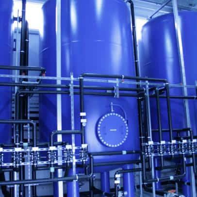 Bauer Umwelt: Aufbereitung Deponiesicherwasser Deponie Silberberg in Hof