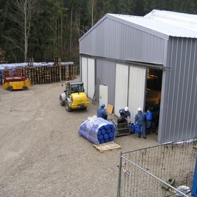 BMU Sanierung Clark-Grube Traunreut