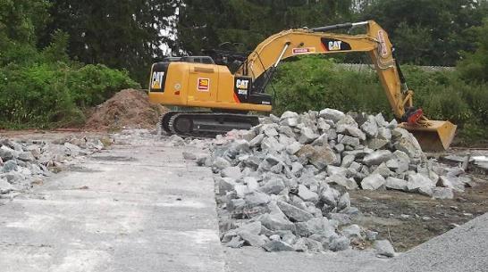 Wadersloh PFC Bodensanierung - Brandschaden Vorschau-Bild