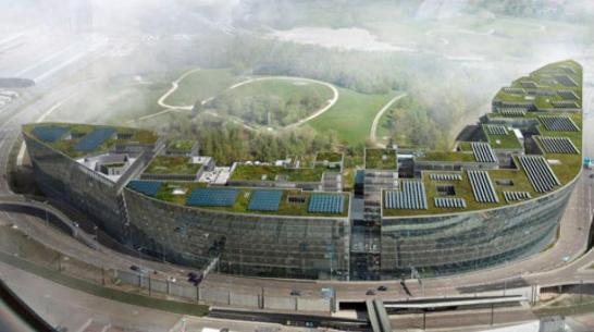 Zürich, Geothermie - Energiepfähle für The Circle at Zurich Airport Vorschau-Bild